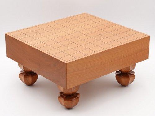 将棋盤 桂材 板目30号 木地仕上げ   (送料無料)