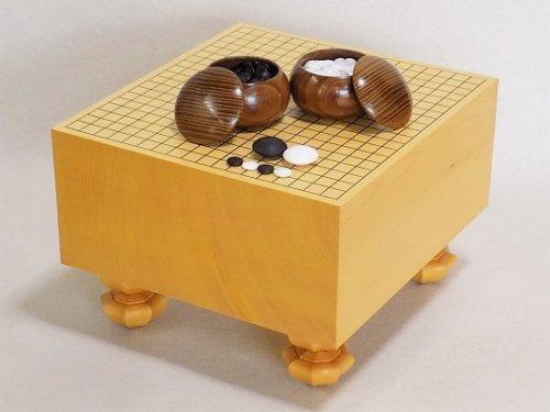 ひな碁盤・ガラス碁石・碁笥セット  (送料無料)