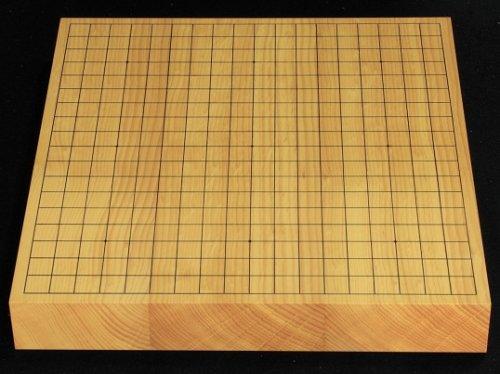卓上碁盤 本榧 柾目 20号 接合盤 No.4  (送料無料)