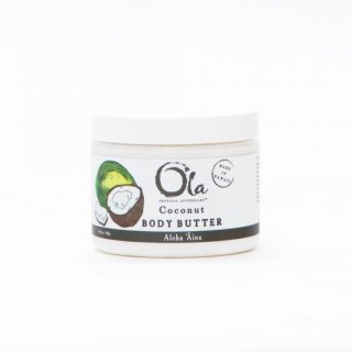 BODY BUTTER(Coconut)6floz【OLABB-COC6】ボディ バター117ml(ココナツ)