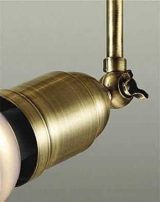 スポットライト DSL-4832YT LED 電球色 調光 プラグ メッキ