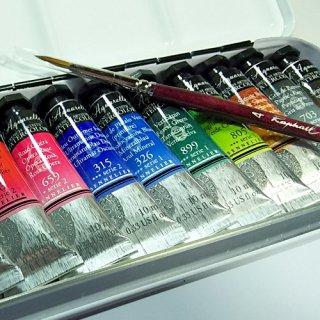 セヌリエ水彩絵具12色チューブセット