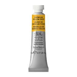 #111 ウィンザー&ニュートン プロフェッショナルウォーターカラー  5mlチューブ:カドミウムイエローディープ