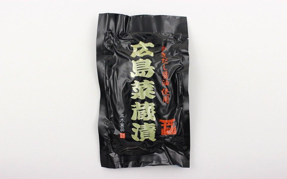広島菜 蔵漬(300g)