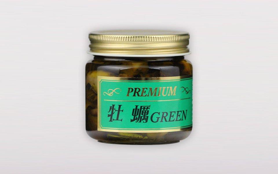 プレミアム牡蠣GREEN<br>(ローズマリー/140g)