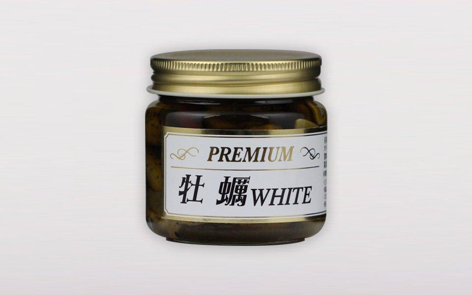 プレミアム牡蠣WHITE<br>(ペペロンチーノ/140g)