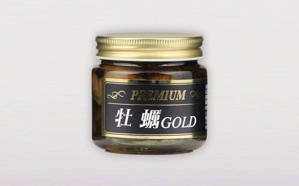 プレミアム牡蠣GOLD<br>(醤油、コーン油/140g)