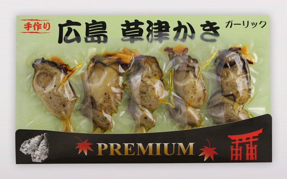 プレミアム牡蠣串<br>ガーリック(5本入)