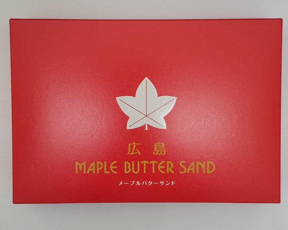 メープルバターサンド(10個入り)