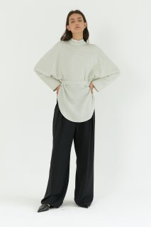 maxi wide pants<br>black