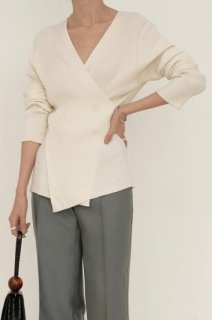 *再入荷*<br>soft wrap knit<br>3colors