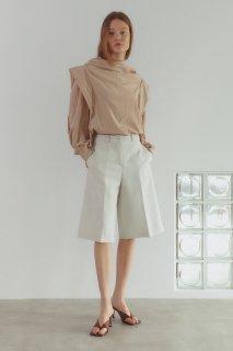classic half pants<br>ivory