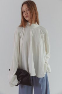 mandarin dressy blouse<br>3colors