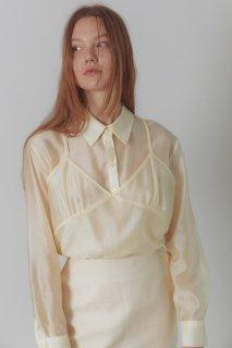 bustier blouse<br>lemon