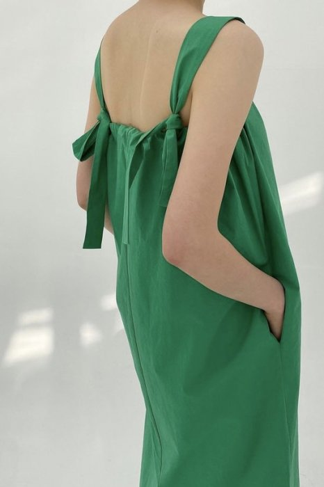 minimal ribbon<Br>maxi one piece<br>white, green, red