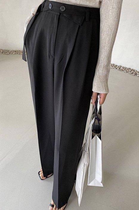 mel belt slacks<br>black