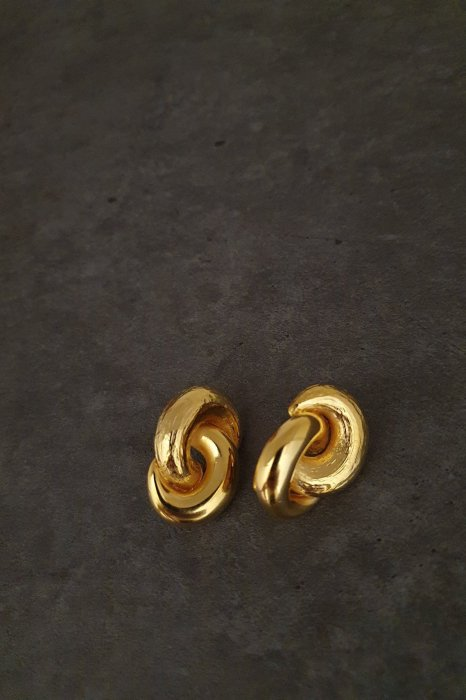 jj earring<br>gold