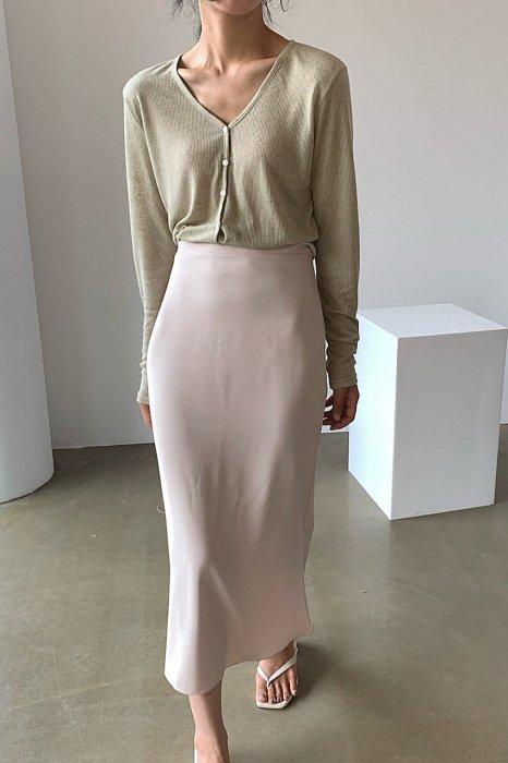 summer mermaid skirt<br>ivory
