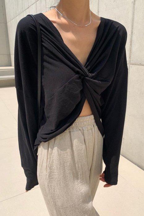 2way<br>cotton cross tee shirts<br>black