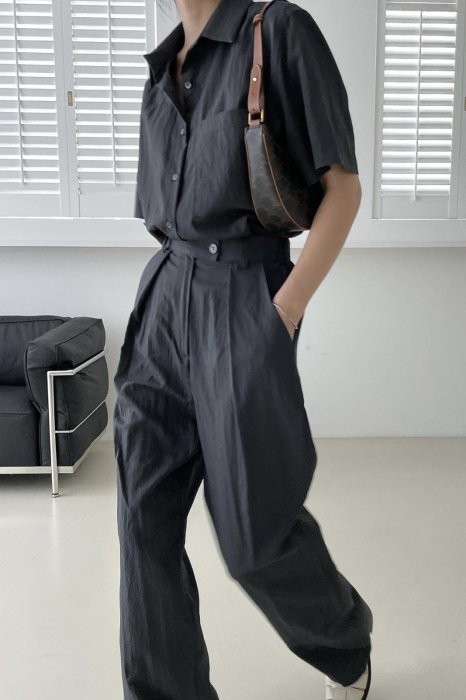 glo 2way summer shirts<br>navy