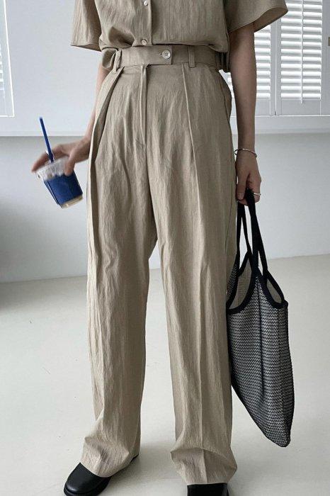 glo summer pants<br>beige