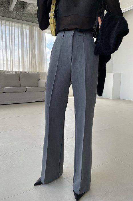mar bootcut slacks<br>gray