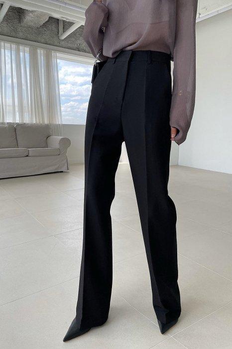mar bootcut slacks<br>black
