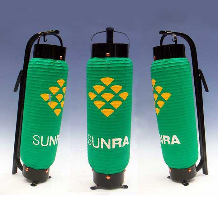 弓張提灯 SUNRA・ロゴ型 ※防水加工済み