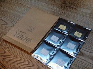 オンラインショップ限定商品【送料込み】 倉敷珈琲館お試しセット(ドリップパック6種)