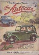 The Autocar No.2209 March 4th  1938.