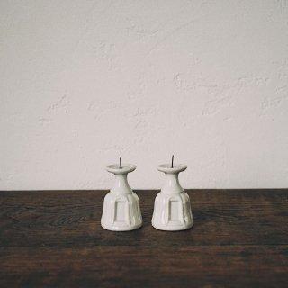 白磁の燭台