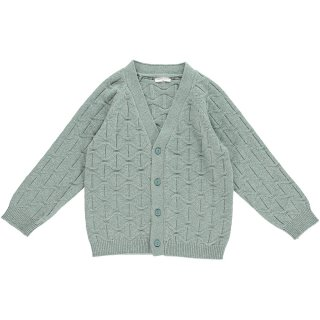 <img class='new_mark_img1' src='https://img.shop-pro.jp/img/new/icons22.gif' style='border:none;display:inline;margin:0px;padding:0px;width:auto;' />【20%OFF】HAPPYOLOGY  ABBOTT CARDIGAN, DUSTY MINT