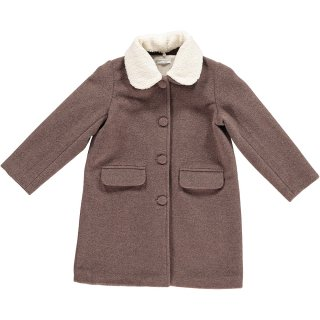 <img class='new_mark_img1' src='https://img.shop-pro.jp/img/new/icons22.gif' style='border:none;display:inline;margin:0px;padding:0px;width:auto;' />【20%OFF】HAPPYOLOGY JESSIE COAT, CHOCOLATE