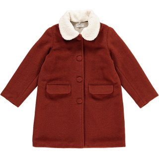 <img class='new_mark_img1' src='https://img.shop-pro.jp/img/new/icons22.gif' style='border:none;display:inline;margin:0px;padding:0px;width:auto;' />【20%OFF】HAPPYOLOGY JESSIE COAT, RUST