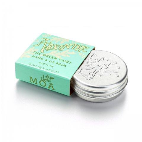 送料無料【ハンド&リップケア】グリーンフェアリー ハンド&リップバーム Green Fairy Absinthe Hand & Lip Balm(12g)