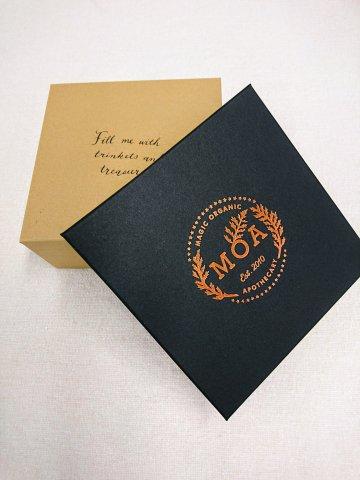 【ギフトボックス】Copper logo Large gift box