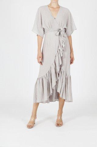 【40%OFF】JOVONNA  IMOGENE DRESS-GREY UK6,UK8,UK10