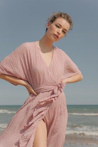 JOVONNA  IMOGENE DRESS-PINK UK6,UK8,UK10