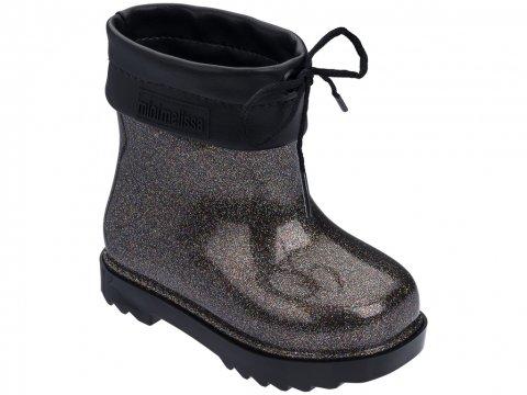 <img class='new_mark_img1' src='https://img.shop-pro.jp/img/new/icons22.gif' style='border:none;display:inline;margin:0px;padding:0px;width:auto;' />【60%OFF】Melissa  Mini Melissa Rain Boot-BLACK BROWN