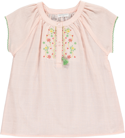 <img class='new_mark_img1' src='https://img.shop-pro.jp/img/new/icons22.gif' style='border:none;display:inline;margin:0px;padding:0px;width:auto;' />【50%OFF】HAPPYOLOGY  ERIN EMBROIDERY TOP, CORAL 4-5Y,6-7Y,8-9Y