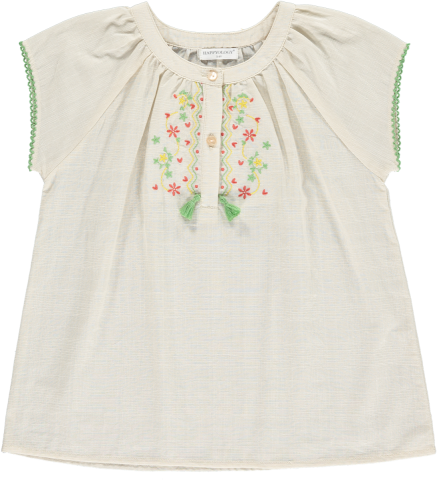 <img class='new_mark_img1' src='https://img.shop-pro.jp/img/new/icons22.gif' style='border:none;display:inline;margin:0px;padding:0px;width:auto;' />【50%OFF】HAPPYOLOGY  ERIN EMBROIDERY TOP, OAT 4-5Y,6-7Y,8-9Y