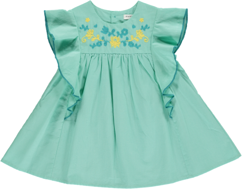 <img class='new_mark_img1' src='https://img.shop-pro.jp/img/new/icons22.gif' style='border:none;display:inline;margin:0px;padding:0px;width:auto;' />【50%OFF】HAPPYOLOGY  KEA BABY DRESS, SODA 0-6M,6-12M,12-18M,18-24M,2-3Y
