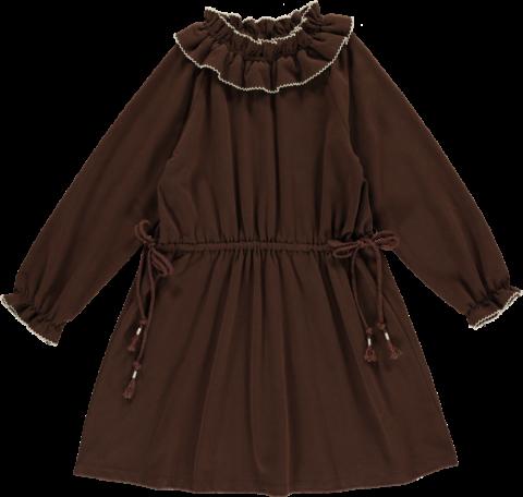 <img class='new_mark_img1' src='https://img.shop-pro.jp/img/new/icons22.gif' style='border:none;display:inline;margin:0px;padding:0px;width:auto;' />【40%OFF】HAPPYOLOGY Birdie Organic Cotton Dress, Coca
