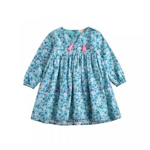 Louise Misha Baby Felizita Dress, Emerald Flowers