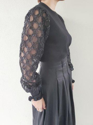 【40%OFF】JOVONNA Zinab tops-BLACK