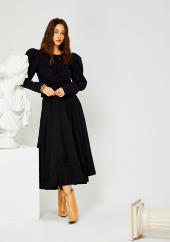 【40%OFF】GHOSPELL The Classics Midi Skirt