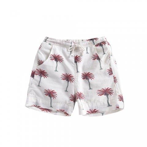 【40%OFF】Louise Misha Kids Anandi Shorts, White Tropical