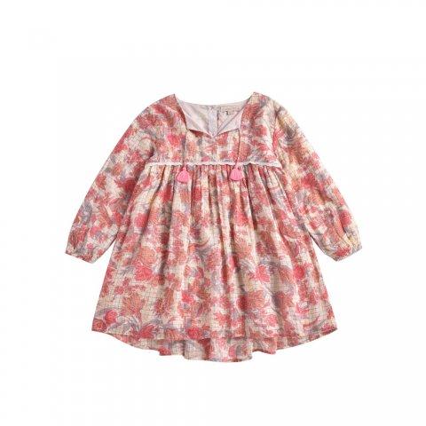Louise Misha Baby Felizita Dress, Pink Flowers