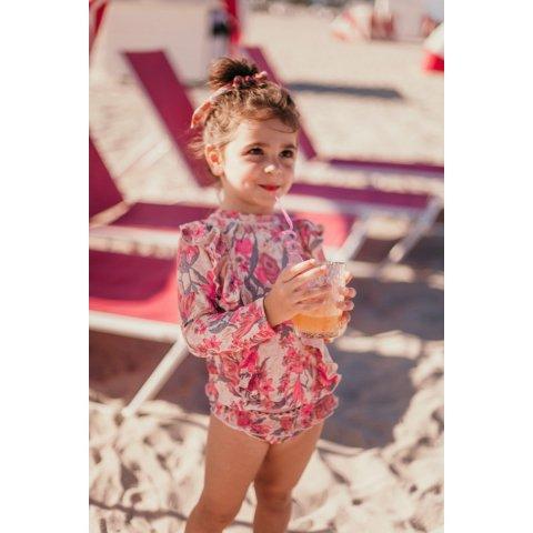 【40%OFF】Louise Misha Kids Toluca UvProtectiveset, Pink Flowers