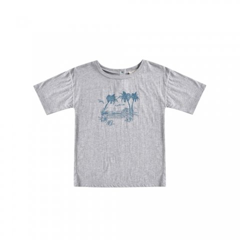 Louise Misha Kids Ammar Tee, Light Grey
